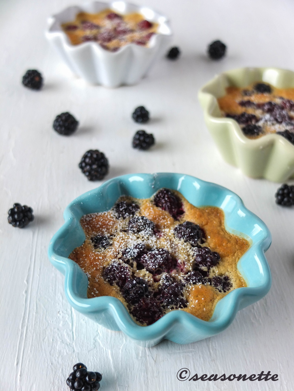 brombeer-clafoutis