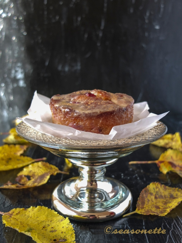 Pflaumen-Marzipan-Kuchen im Weckglas